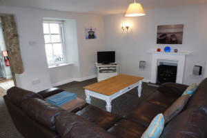 Lounge, 1 Bethany Place, Self-Catering, St Just, Cornwall