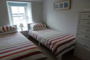 Bedroom, 1 Bethany Place, Self-Catering, St Just, Cornwall