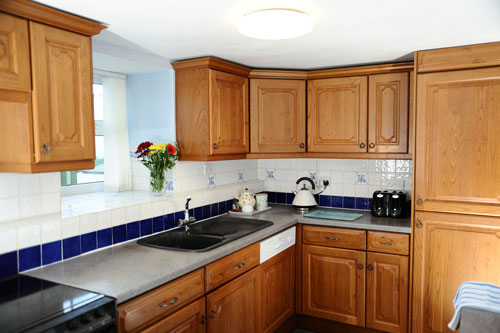Kitchen, Capeway, Self-Catering, St Just