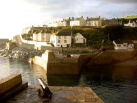 Porthleven sunset
